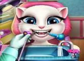 لعبة القطة المتكلمة لسامسونج