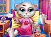 العاب القطة المتكلمة انجيلا