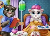 العاب القطة انجيلا عند الدكتور