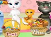 العاب القطط الناطقة توم وانجيلا