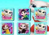 لعبة talking angela مهكرة