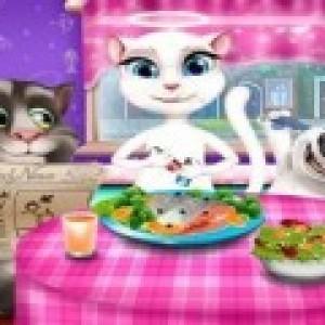 لعبة تحضير طعام السحور مع حبيبتي انجيلا