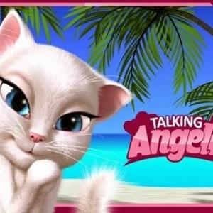 العاب قطة تتكلم