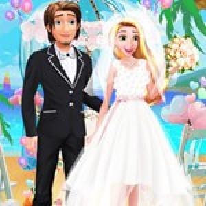 لعبة حفل زفاف الاميرة ربانزل